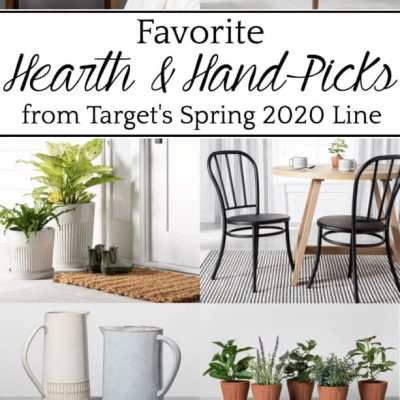 Fave Picks from Target's New Spring 2020 Decor