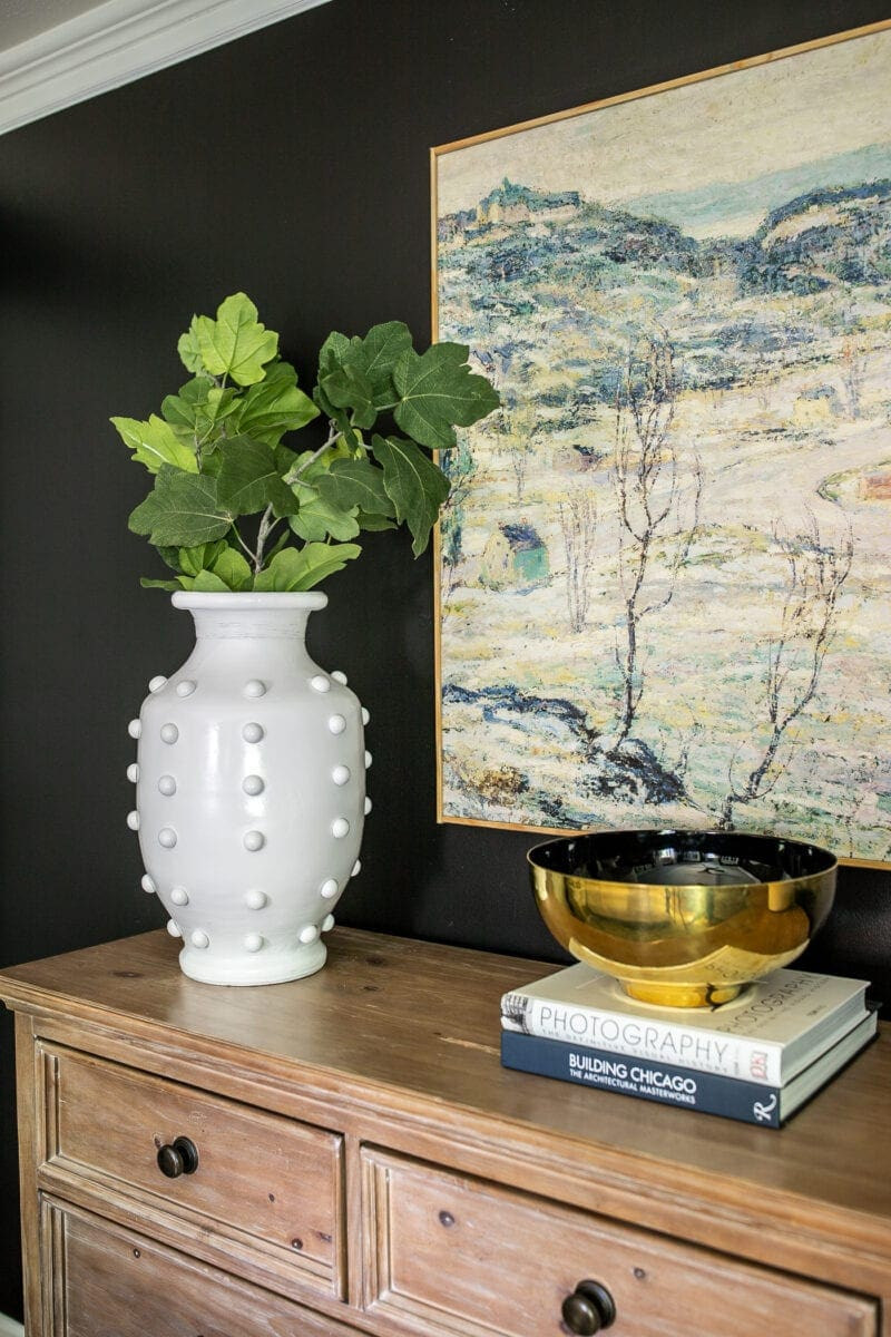 DIY Hobnail Vase | Anthropologie knock-off