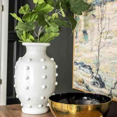 DIY Hobnail Vase