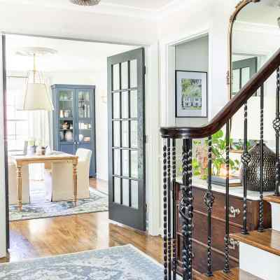 Our Classic Meets Modern Foyer Transformation