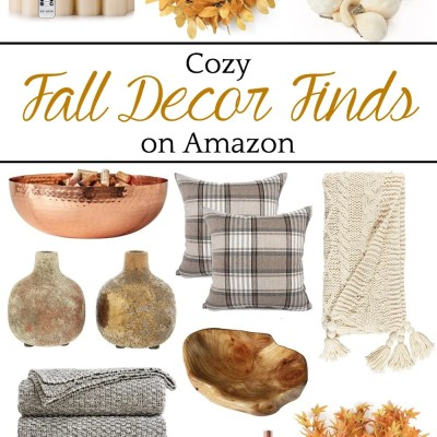 Cozy Fall Decor Finds on Amazon
