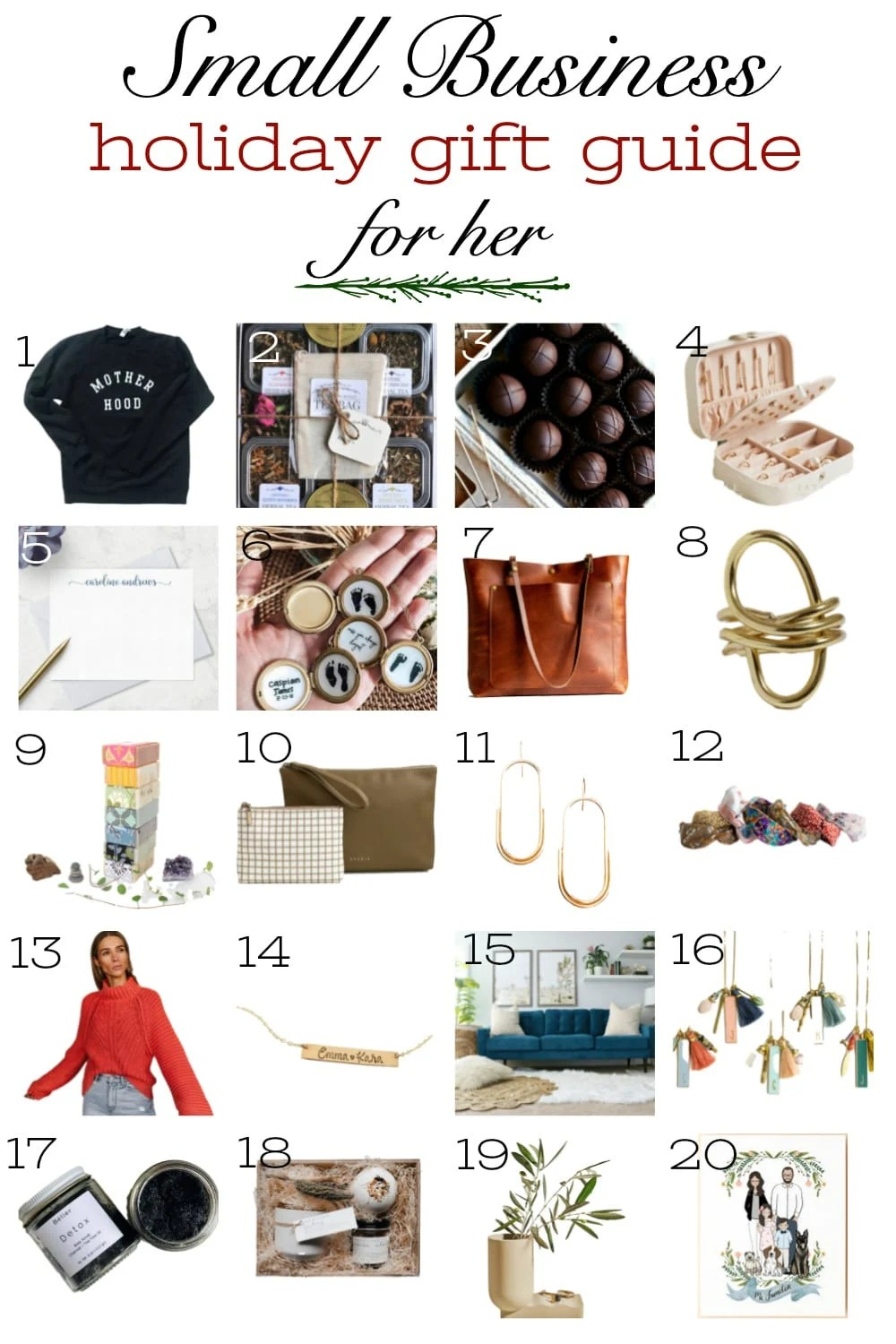 Small Business Gift Guide 2020 Bless Er House