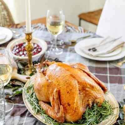 5 Tips for an Inexpensive Thanksgiving Table Decor & Printable Cooking Schedule