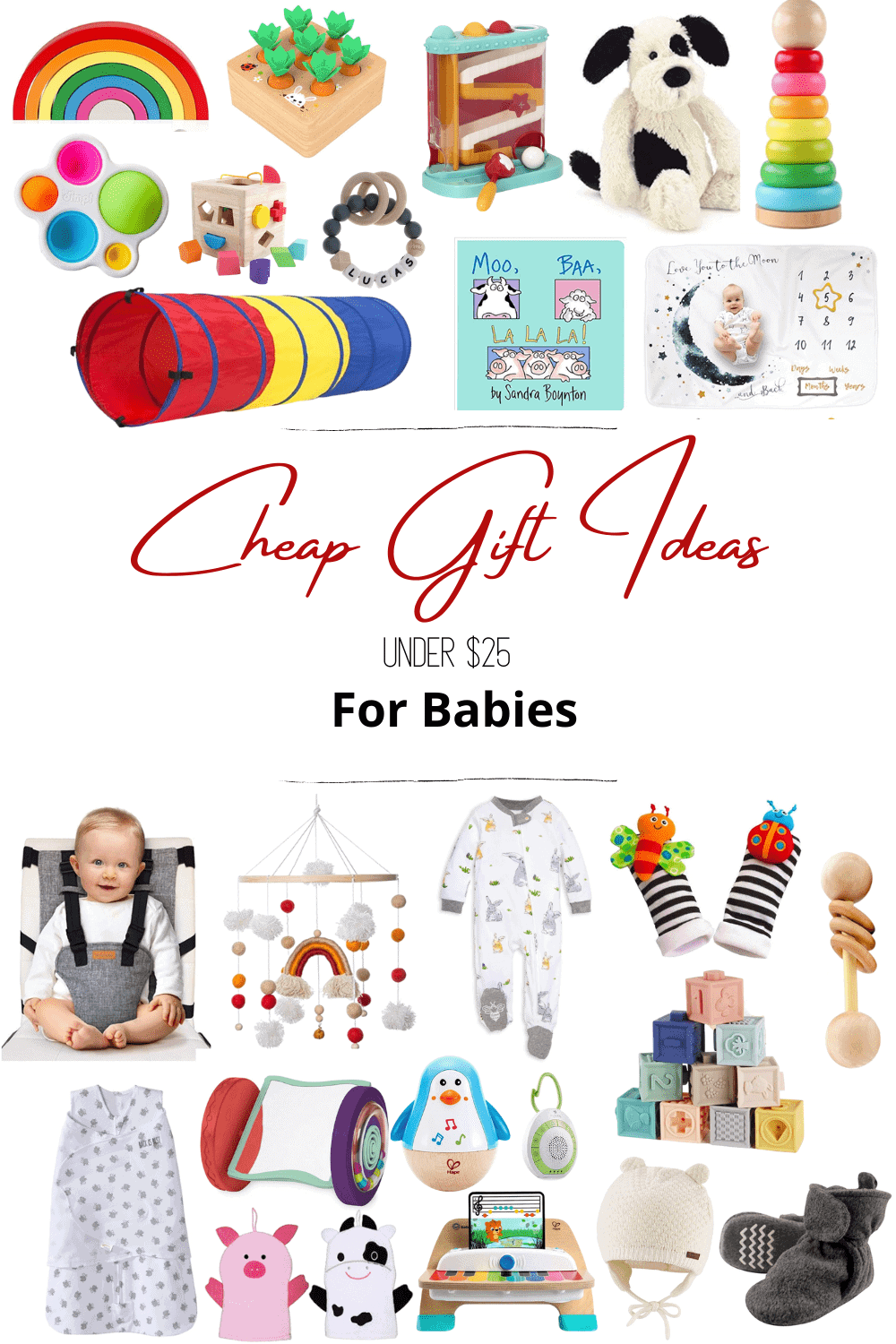 cheap gift ideas for babies