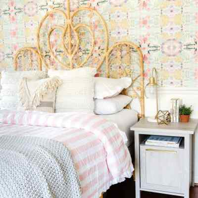 Boho Girl Bedroom Refresh