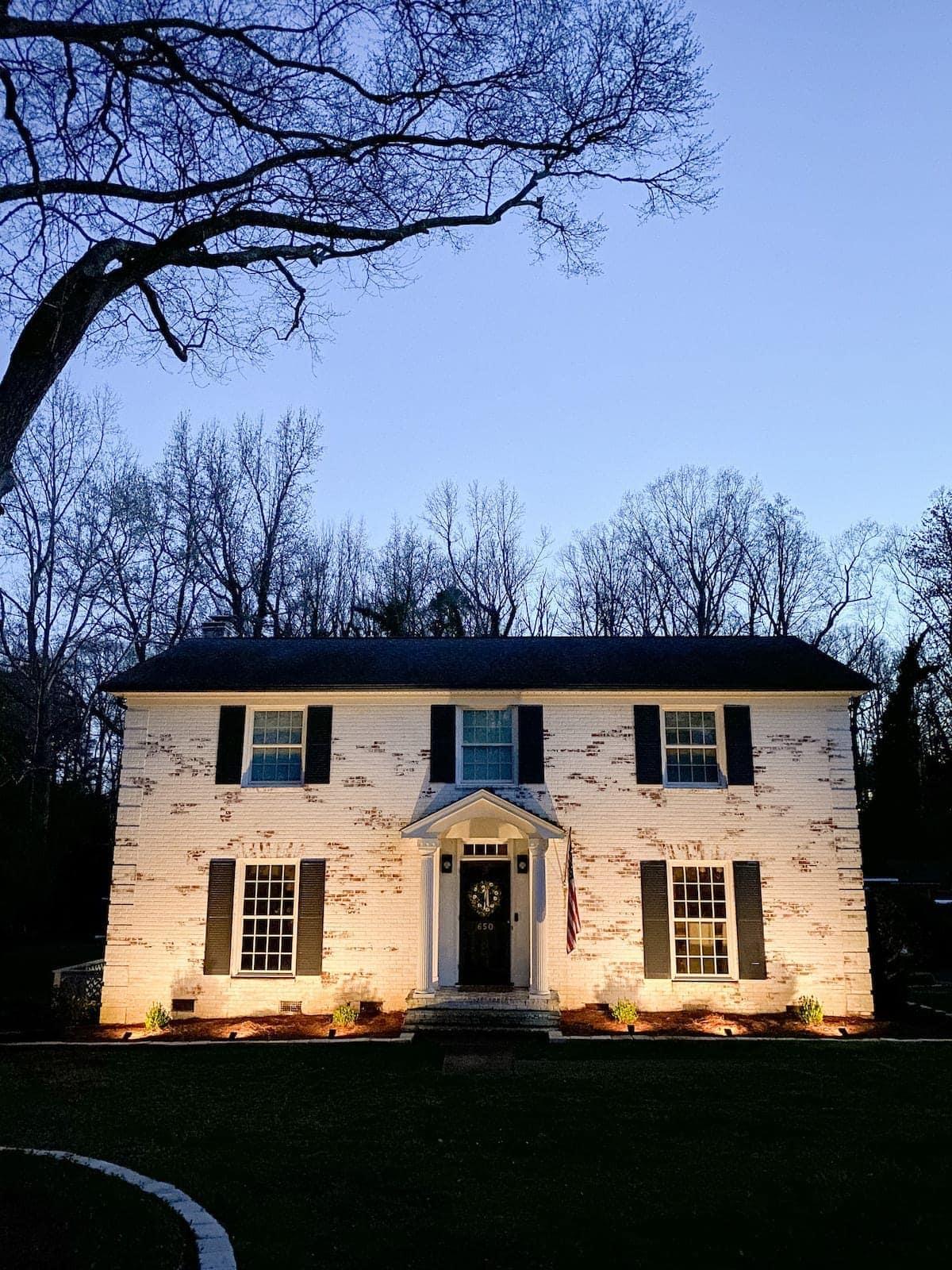 solar landscaping spotlights uplighting