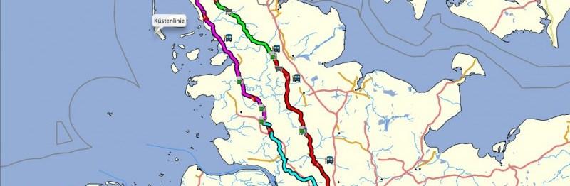 400km Brevet – Der Plan