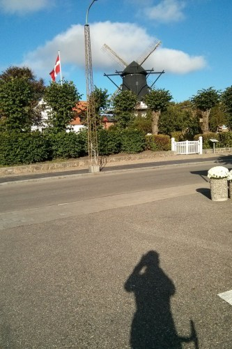 Windmühle in Højer