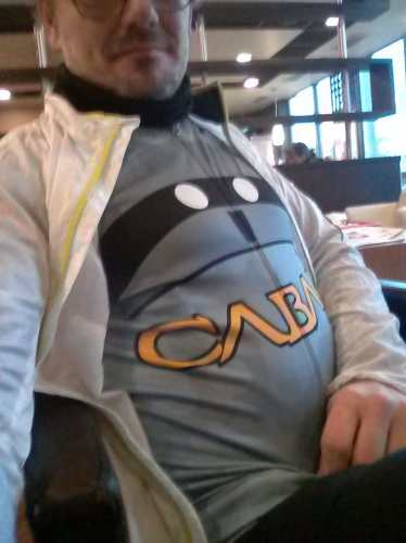 Der #zombieraccoon war auch dabei. :-) http://www.bikecommutercabal.com/