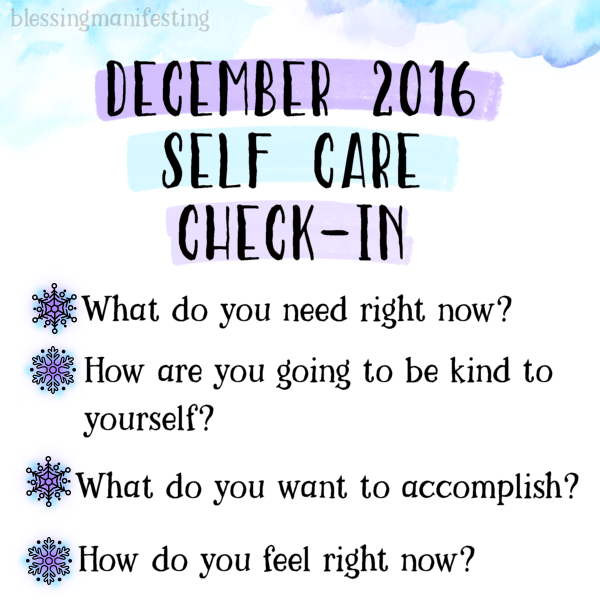 december self care