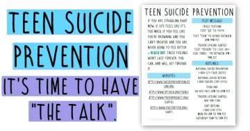 Teen depression parents