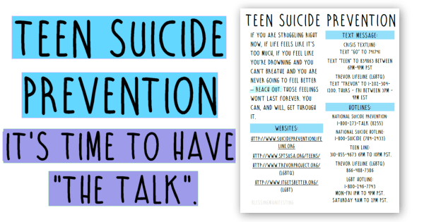 "Have you had ""The Talk"" with your teen?"
