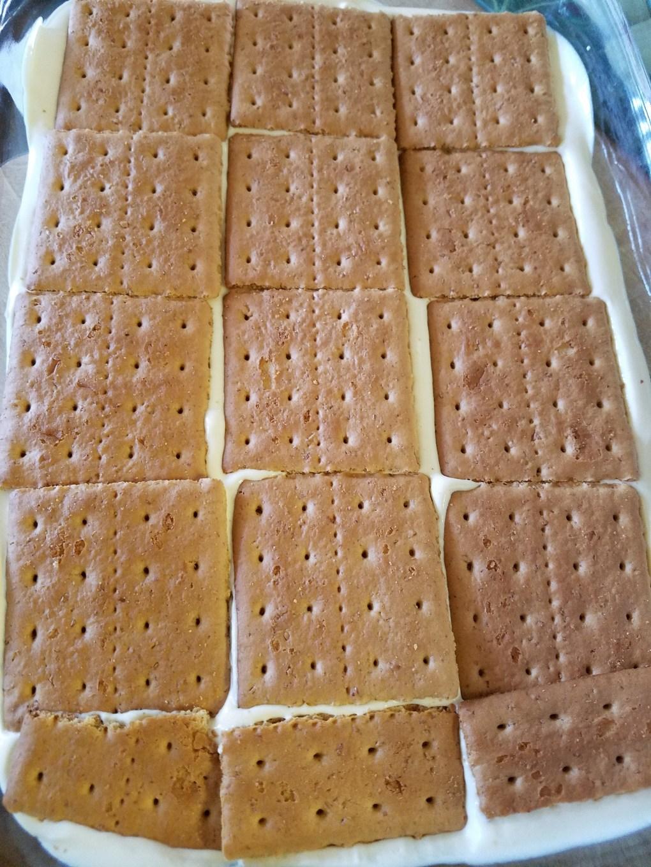 graham cracker layer