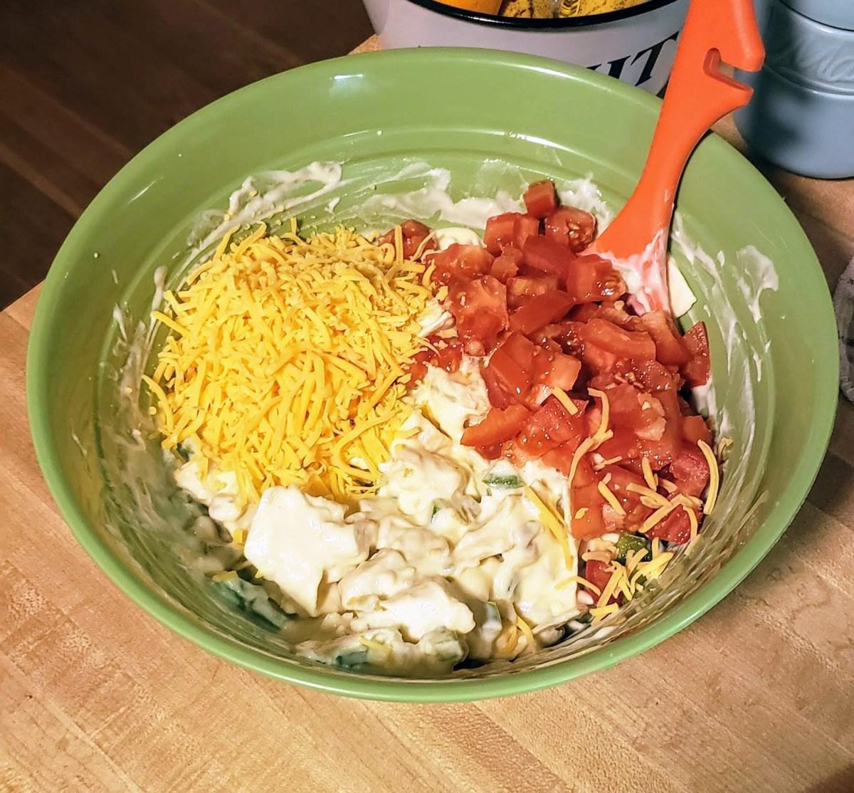 How to make skinny chicken casserole