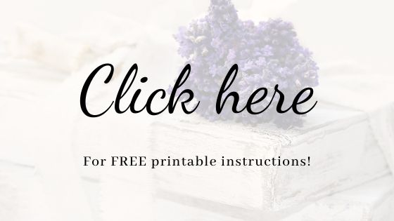 Free Printable Instructions