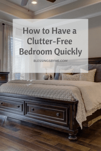How to Have a Clutter-Free Bedroom Quickly