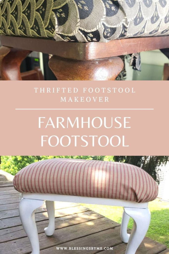 Farmhouse footstool