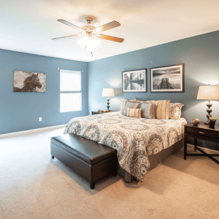 how to have a clutter free bedroom