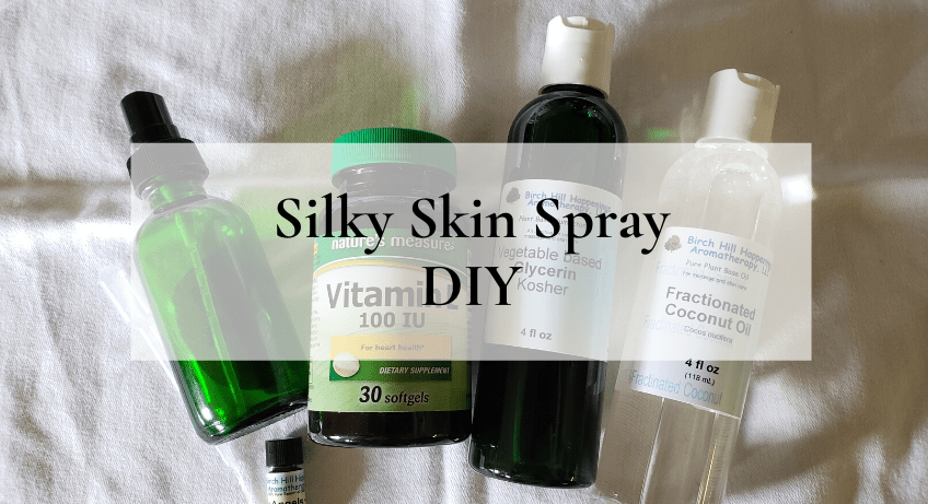Silky Skin Spray DIY