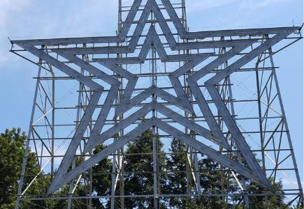 Mill Mountain Star