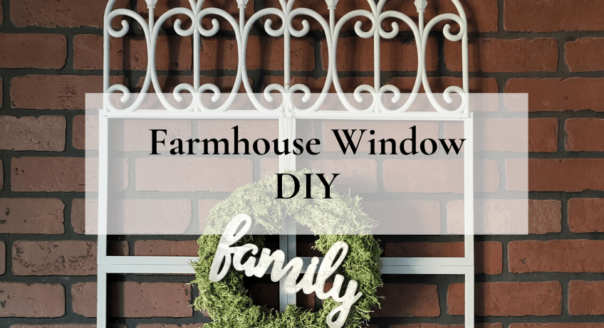 Farmhouse Window DIY