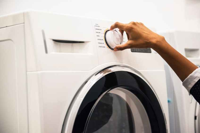 Laundry boost with vinegar