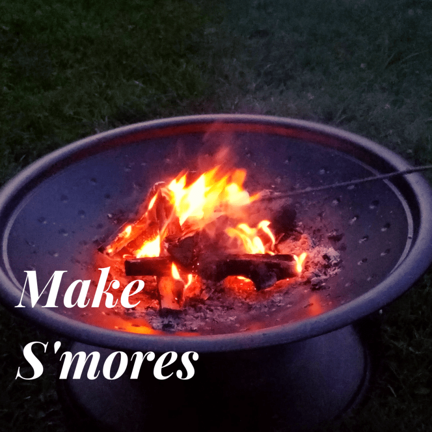 Make S'mores - fall family activities