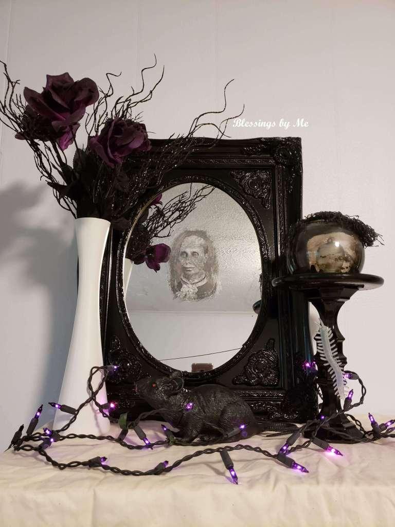 Haunted mirror DIY