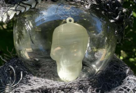 Spooky Crystal Ball