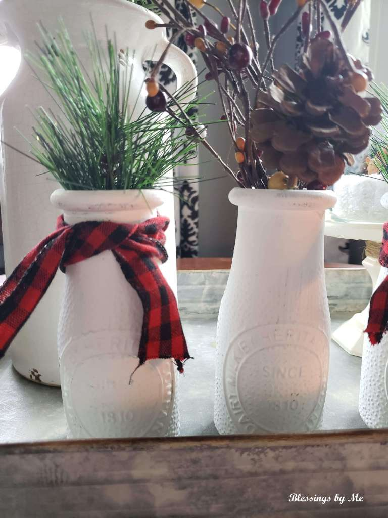 Farmhouse Christmas Jars