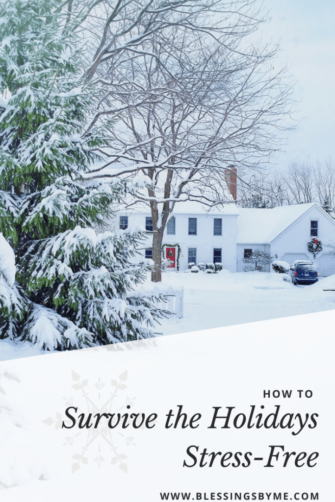 How to survive the holidays stress free