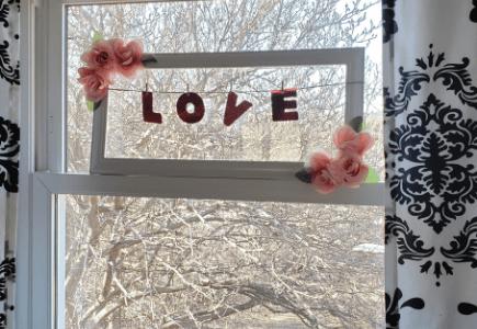 Valentine's Love Sign