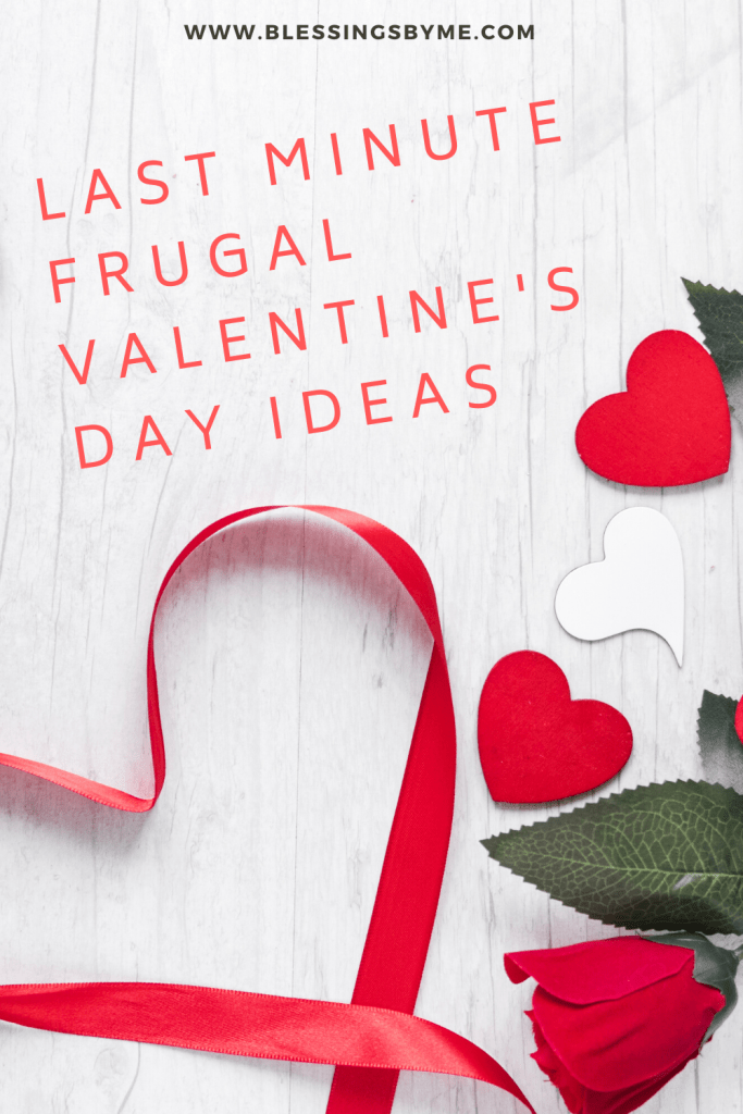 Frugal Valentine's Day Ideas