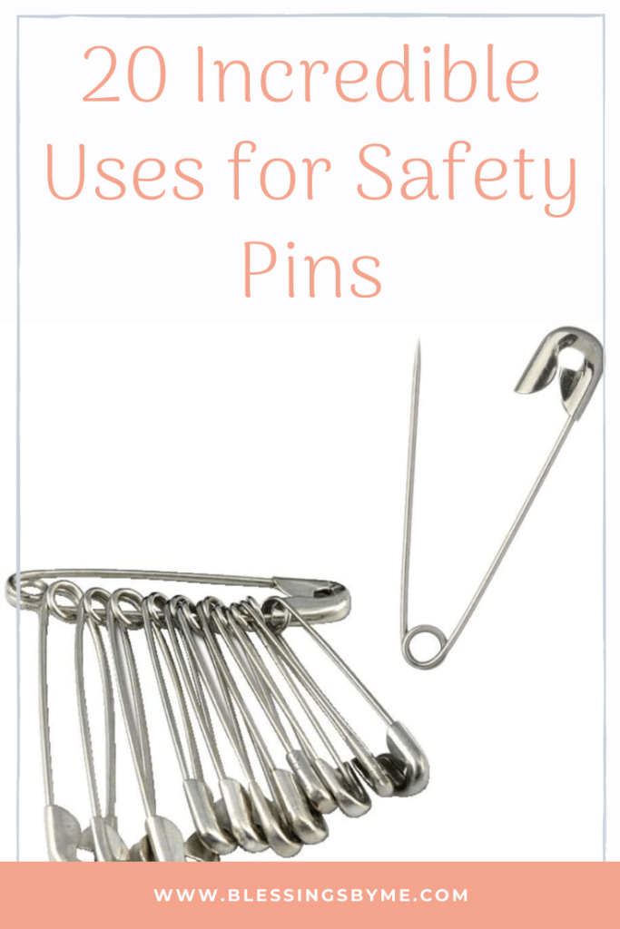 20 Incredible Uses for Safety Pins