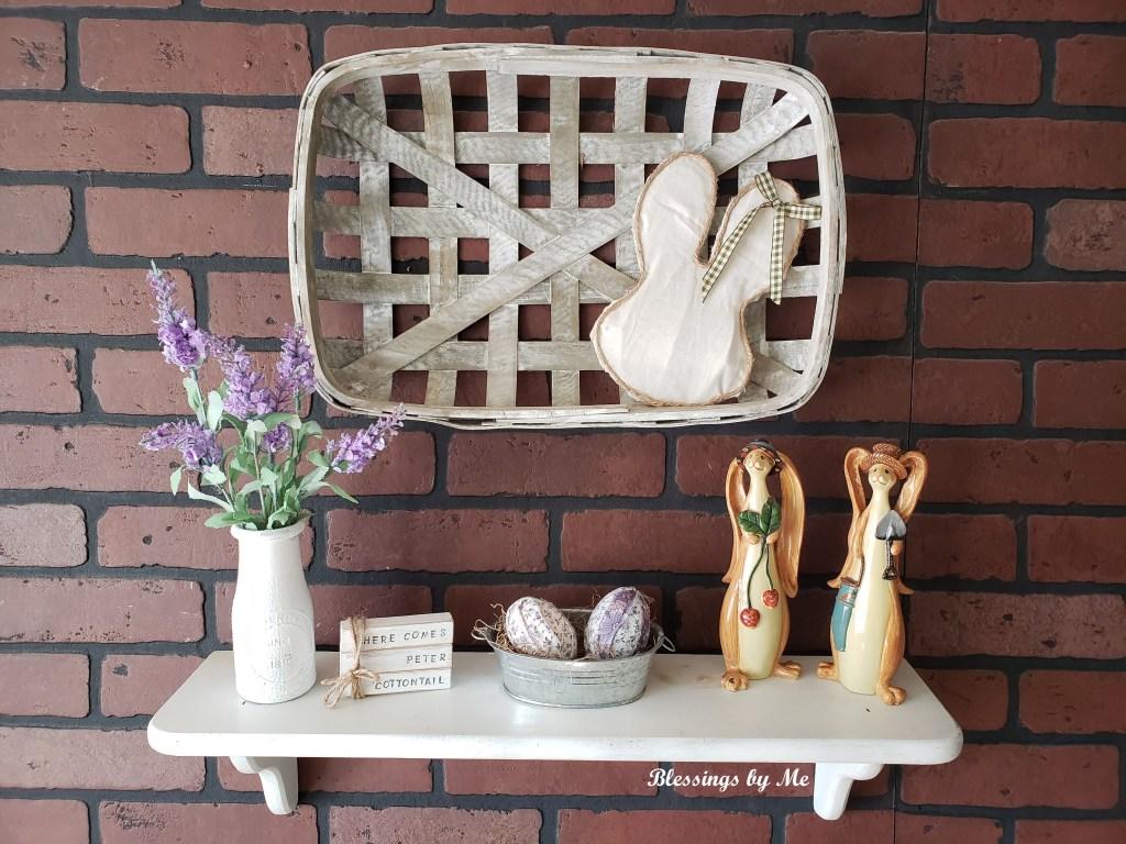 Rustic Bunny Dollar Tree DIY