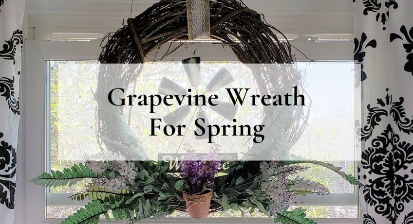 Grapevine Wreath DIY