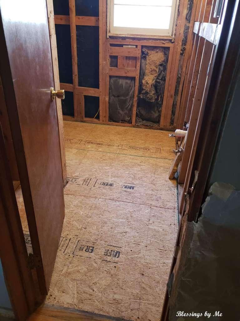 new flooring boards