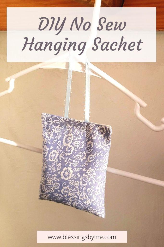 diy hanging sachet