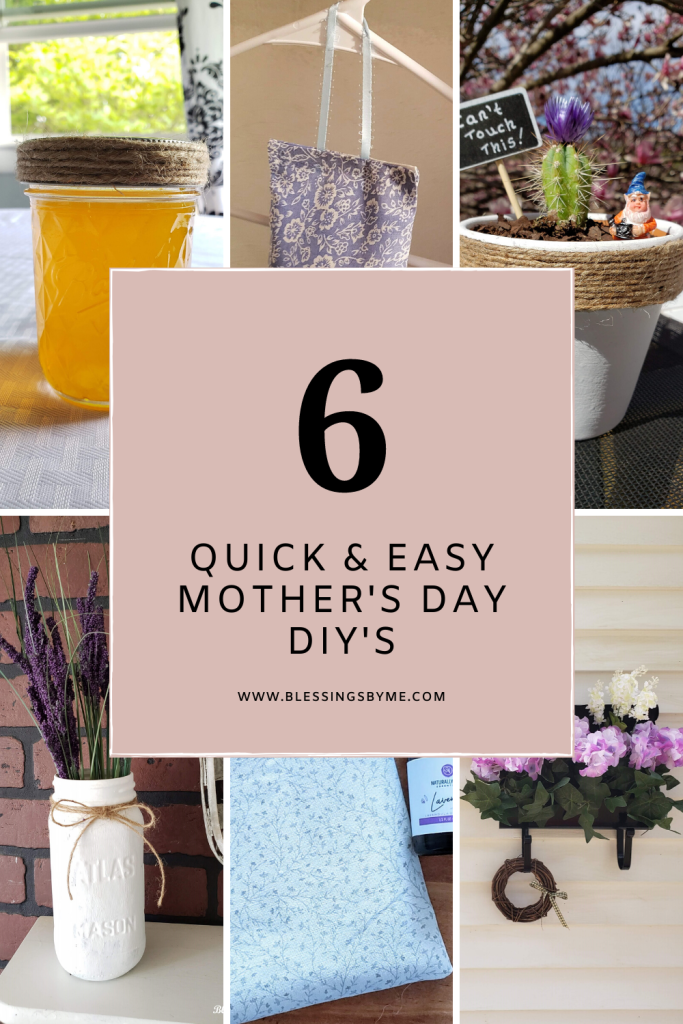 "quick and easy DIY""s fro Mother's Day pin"