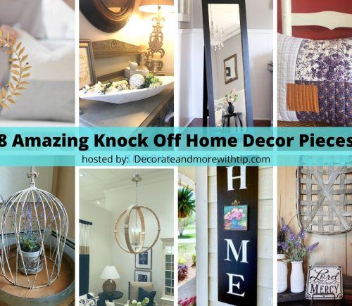 knockoff home decor challenge