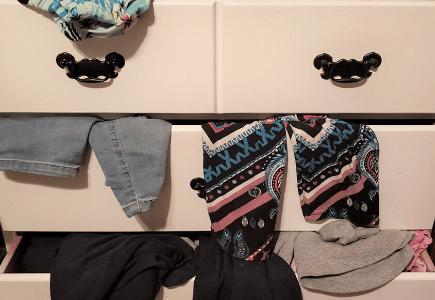 Dresser Drawer Clutter