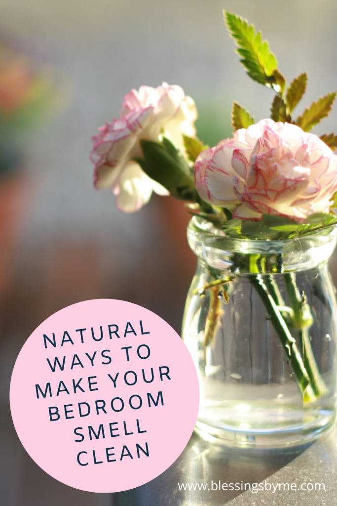 Natural ways to make your bedroom smell clean
