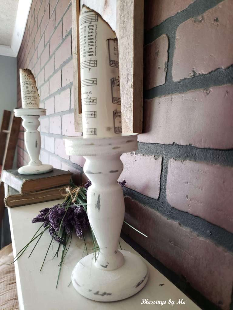 farmhouse candle holders