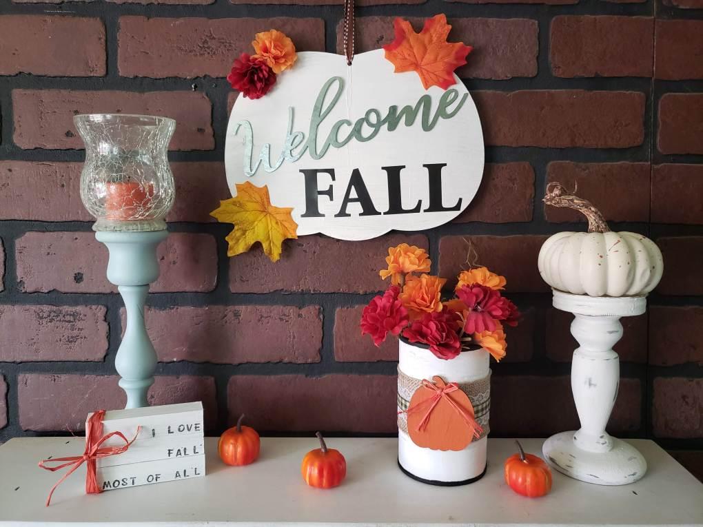 Fall diy home decor