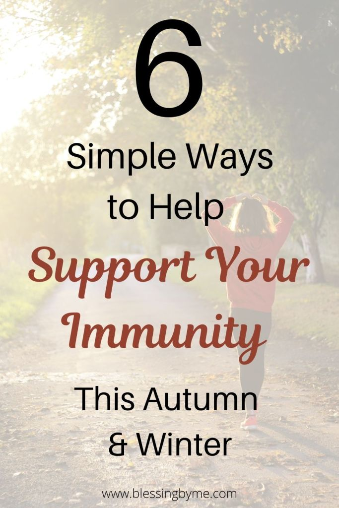 simple ways to help support your immunity