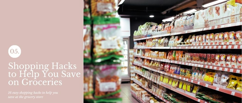 Week 5 of the money-saving grocery shopping challenge