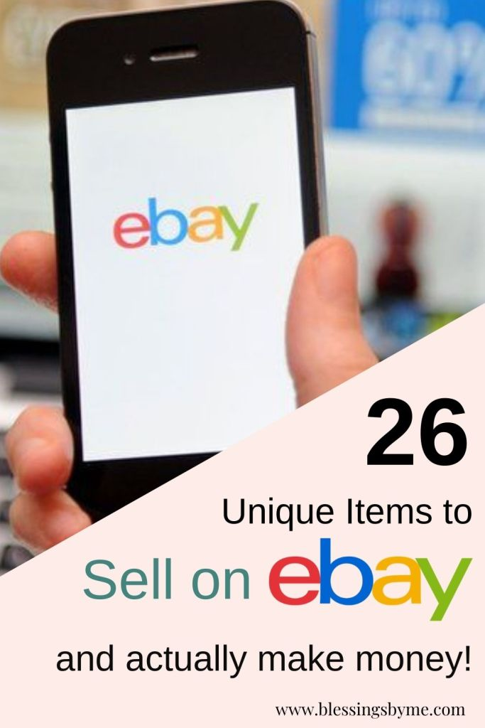 unique items to sell on eBay