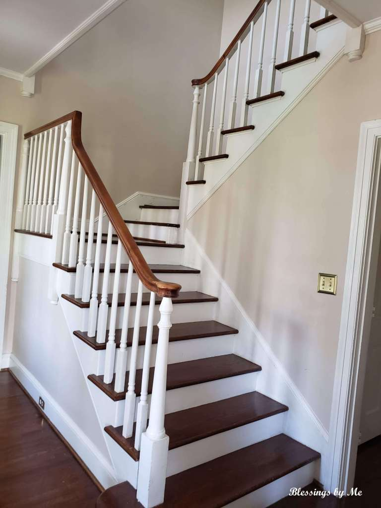 stairs in the new home
