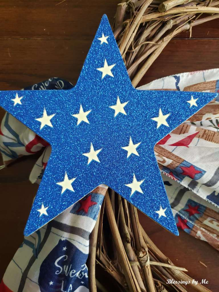 glue the star to the knot