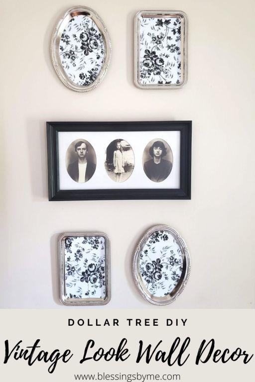 faux vintage wall decor